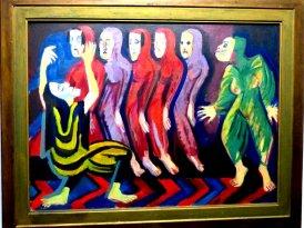 Ernst Ludwig Kirchner, Totentanz der Mary Wigman