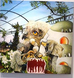 Wolf Hamm, Neue Überlebenstrategien , Galerie Haas
