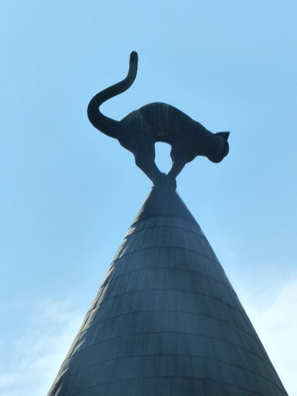 Katzez eigt Gildehaus die Rückseite