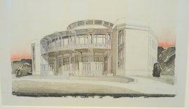 Entwurf Van Der Velde Theater Weimar