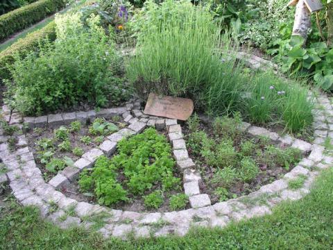 gartengestaltung kräuterbeet kräutergärten kreativ gestalten - mein schöner garten