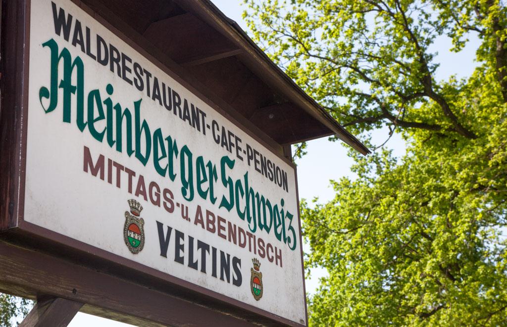 Einfahrt Meinberger Schweiz