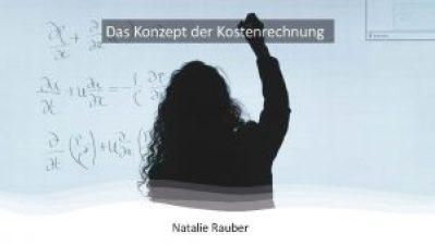 Das Konzept der Kostenrechnung (eBook)