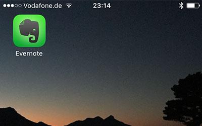 App Evernote – alle (Medizin-) Informationen an einer Stelle