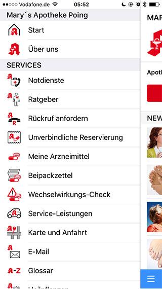 App Apotheke vor Ort