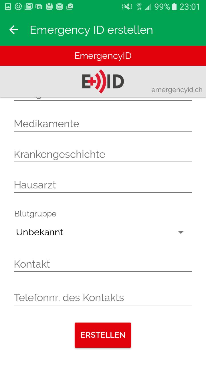 Medical ID App