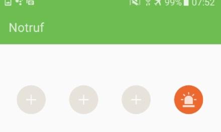 Notfallinformationen bei Android