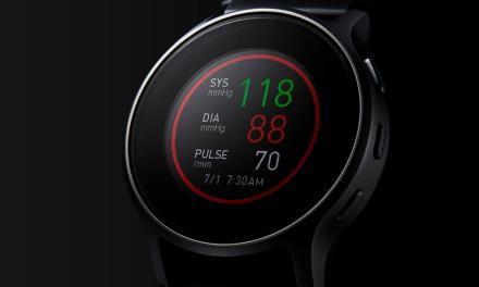 Armbanduhr mit Blutdruckmessung