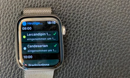 Beste Watch-App für die Medikamenten-Einnahme