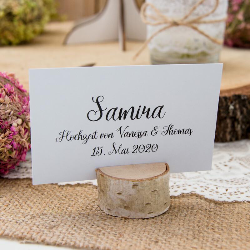 Hochzeit Tischkartenhalter Holz 25 Stuck Kaufen Auf Ricardo
