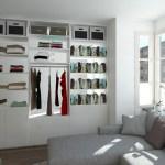 Raumteiler Als Schrank Im Wohnzimmer Meine Mobelmanufaktur