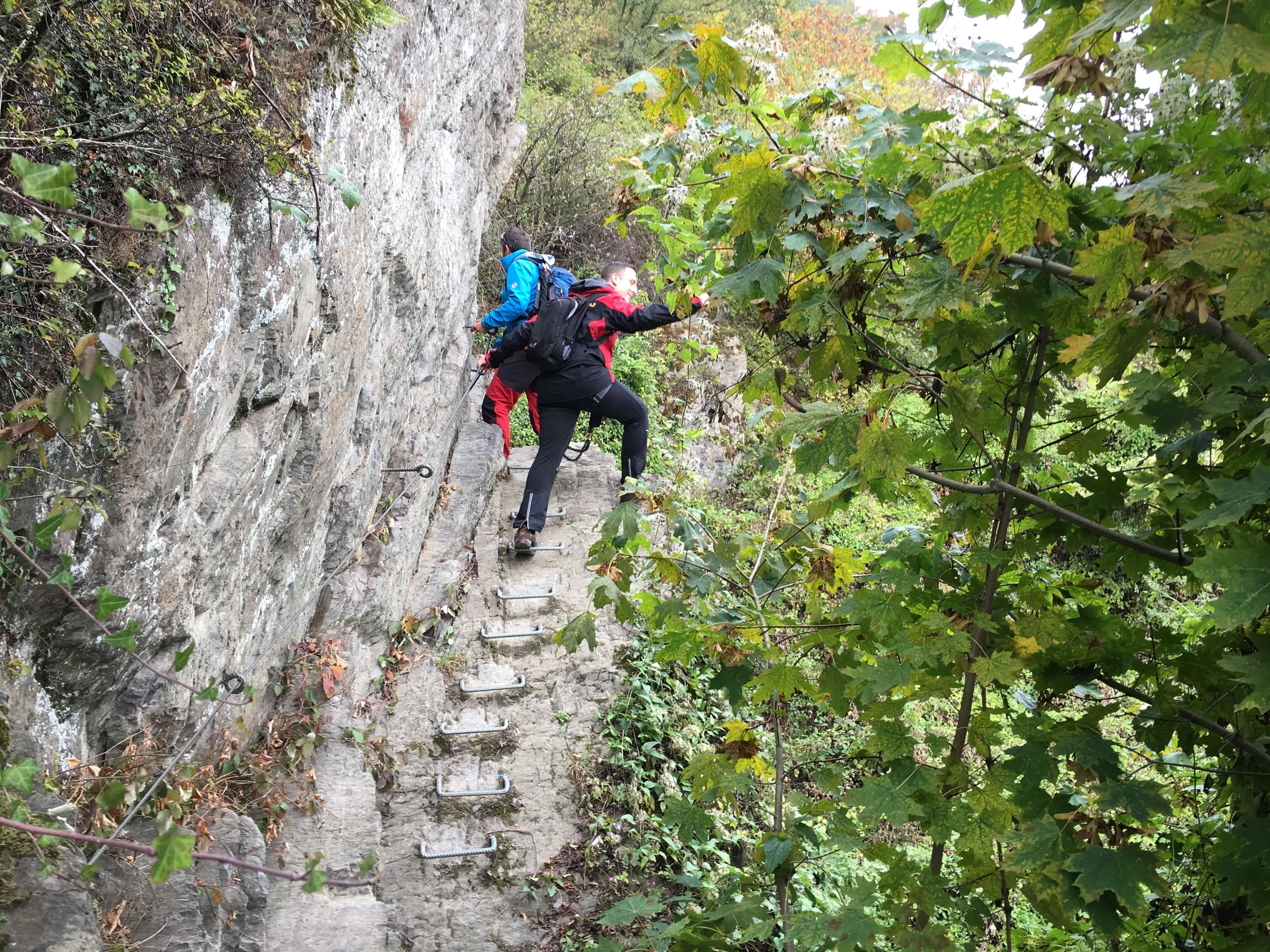 Klettersteig Rhein Boppard : Klettersteig boppard an der grÖssten rhein schleife deutschlands