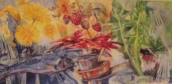 Essen für die Augen – Die Food-Malerin AndyMo aus Mendig