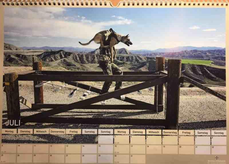 Kalender der Schule für Diensthundewesen der Bundeswehr