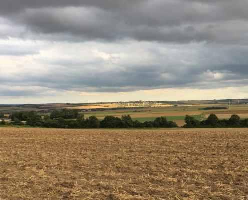 Blick auf das Maifeld bei Polch