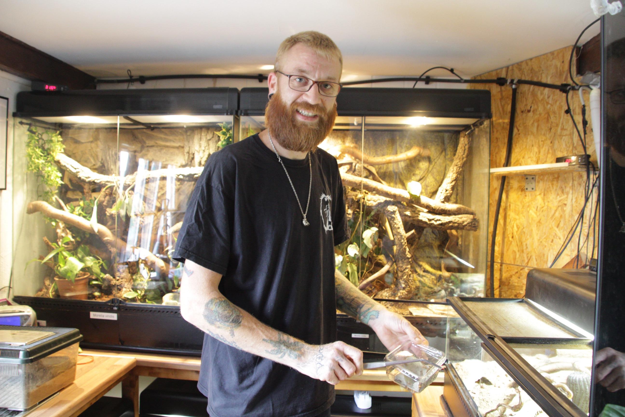 Patrick Meyer, Reptilienauffangstation Polch