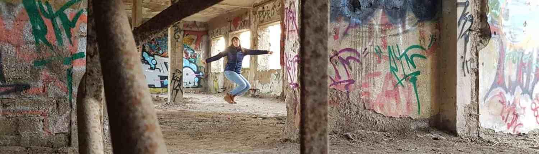 Fotoshooting in ehemaliger Heimschule