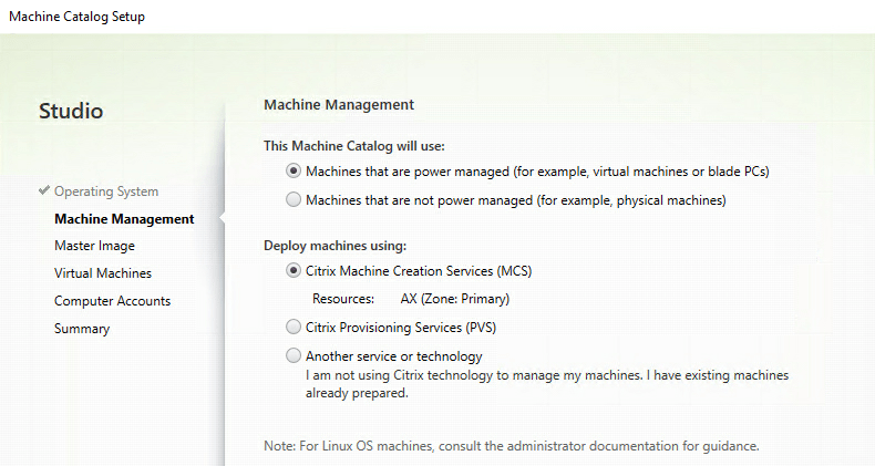 My first time: Citrix Machine Creation Services (MCS) | My
