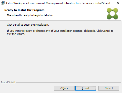 Update Citrix Workspace Environment Management (WEM) from 4 x to