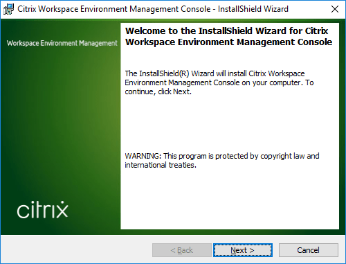 Citrix Workspace Environment Management Console Setup.exe