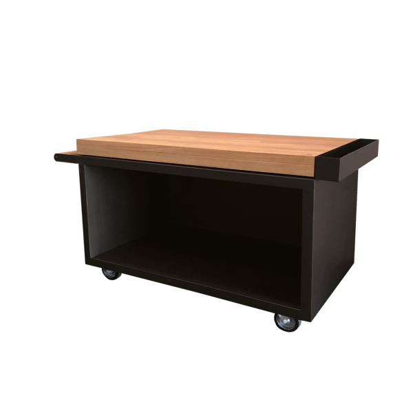 Mise en Place Table Black PRO Teak Wood