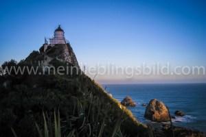 Nugget Point Neuseeland Leuchtturm Lighthouse Leinwand, Acryl, Alu Dibond