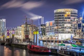 Hafencity Hamburg auf Leinwand kaufen auf Leinwand, Alu Dibond, Acryl