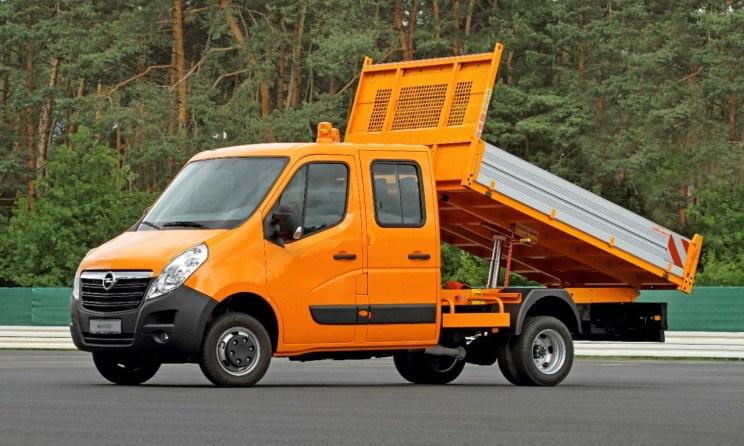 Conversion2Go: Opel Movano Dreiseitenkipper mit Allradantrieb von Oberaigner.
