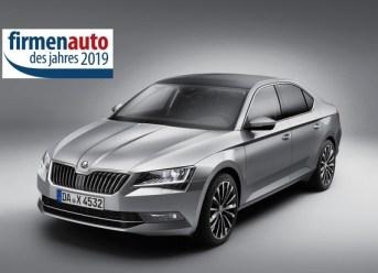 SKODA Firmenauto des Jahres 2019