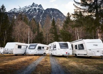 Caravans im ADAC Test