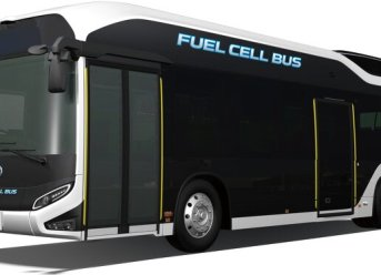 Brennstoffzellenbus Toyota Sora