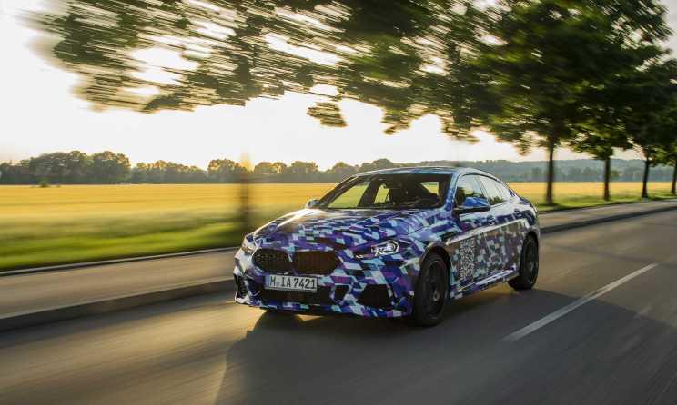 BMW finale Erprobungsphase