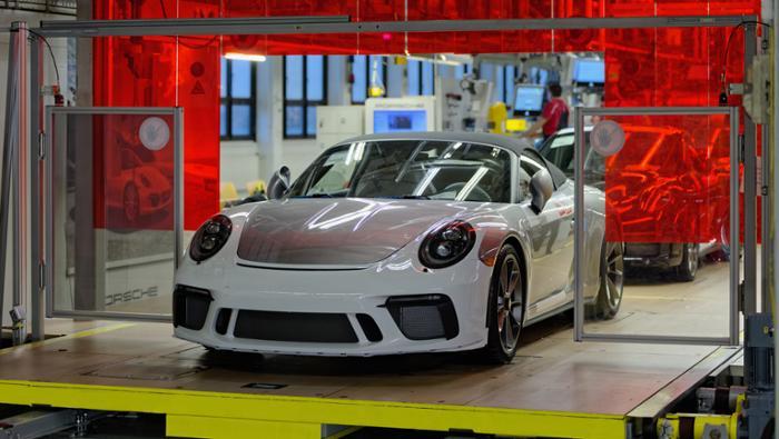 Letzter Porsche 911