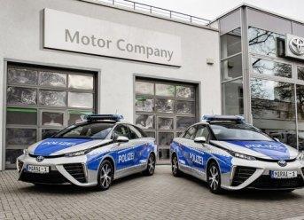 Auf Streife mit dem Toyota Mirai