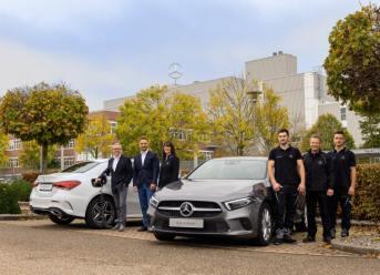 Produktion der A-Klasse Plug-in-Hybrid im Mercedes-Benz Werk Rastatt erfolgreich gestartet
