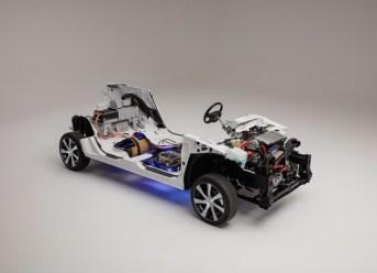 Innere des Toyota Mirai