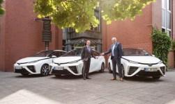 Toyota Mirai für die Stadt Hürth