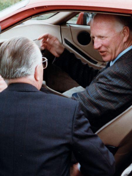 Helmuth Bott, Erwin Vetter, 928 S4, Porsche AG