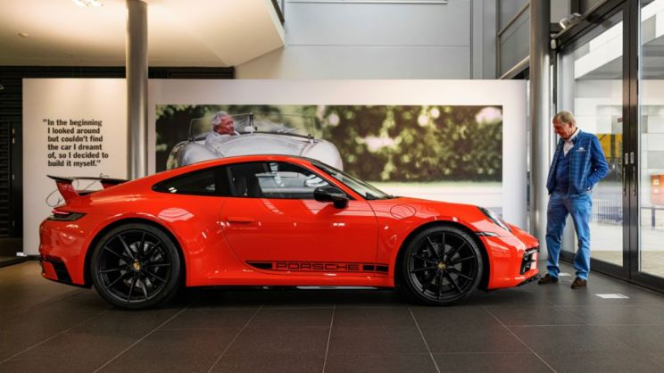 Gijs van Lennep, 911 Carrera S, 2020, Porsche AG