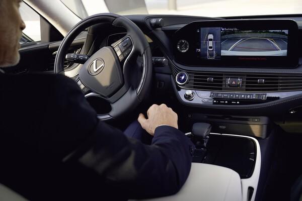 Assistenzsysteme im Lexus LS