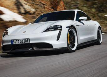 Software-Update für Porsche Taycan