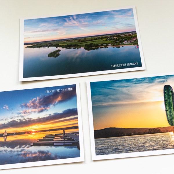 Sun and Fun im Fränkischen Seenland Postkarten Set
