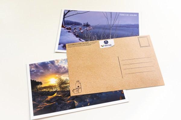 Rauen Seiten im Fränkischen Seenland Postkarten Set