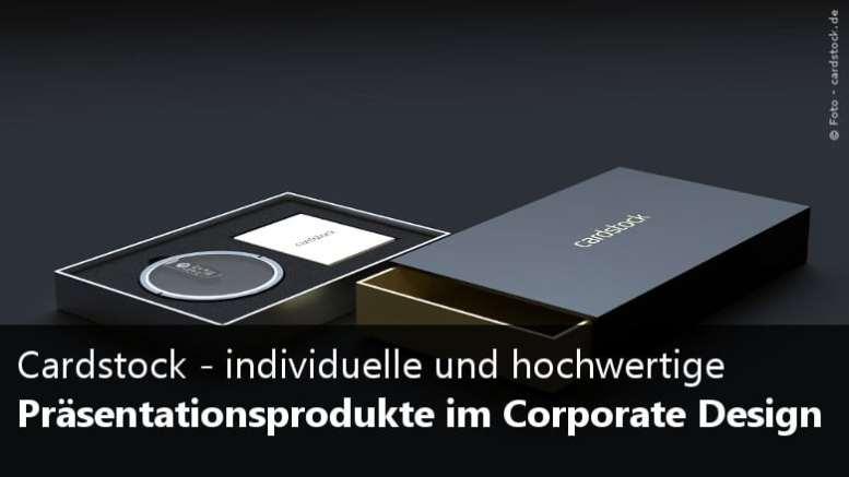 Cardstock - Präsentationsprodukte