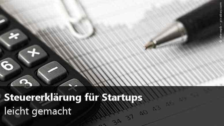 Steuererklärung Startups