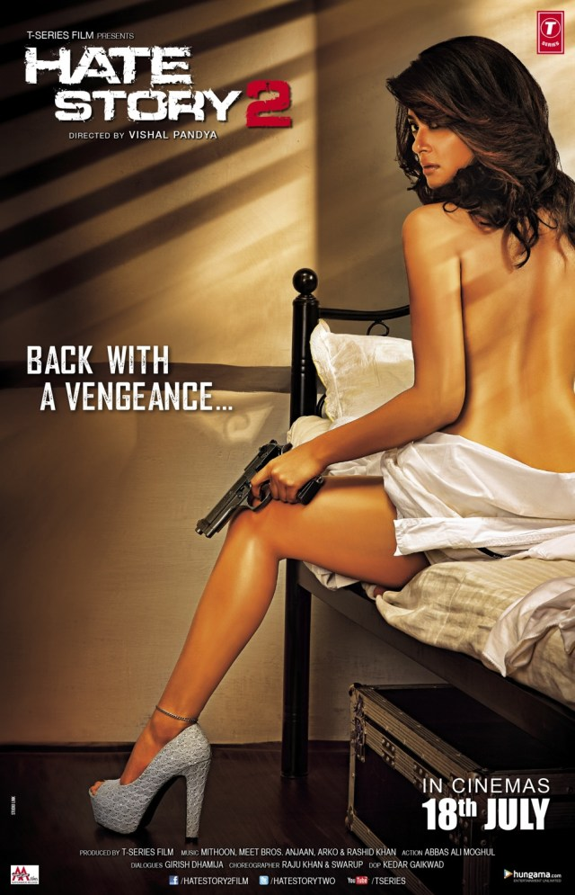 Hate Story 2 Movie Dialogues Posters Surveen Chawla
