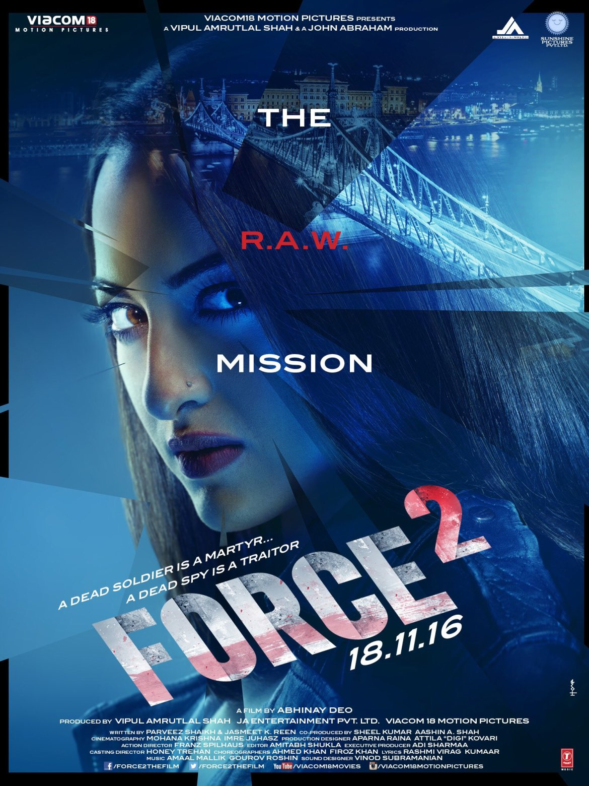 Force 2 Movie Release Date Ft. John Abraham And Sonakshi Sinha