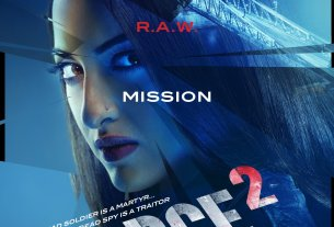 Force 2 First Look Poster Sonakshi Sinha