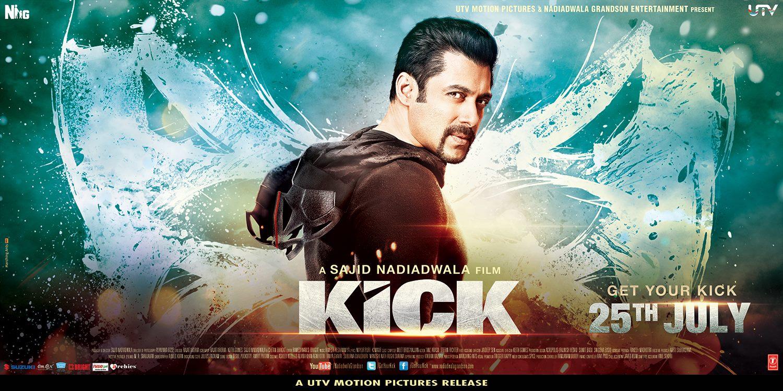 Kick Movie Poster Salman Khan