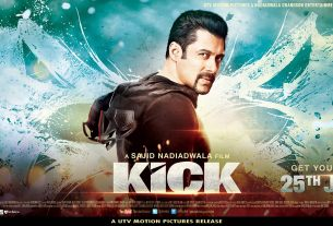 Kick Movie Poster Salman Khan